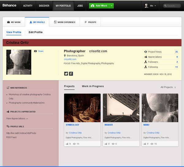 Behance: Plataforma para creativos